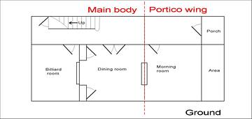 Georgian Dollshouse room plans.