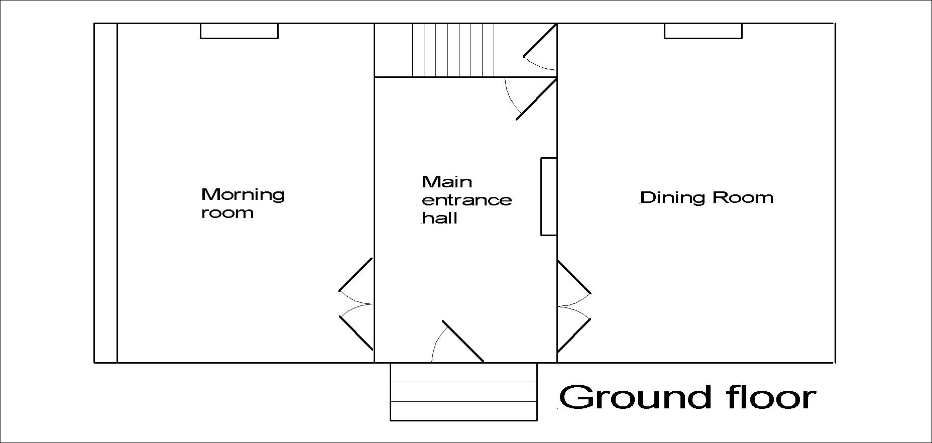Lincoln Hall ground floor plan.
