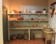 Georgian Dollshouse Pantry.